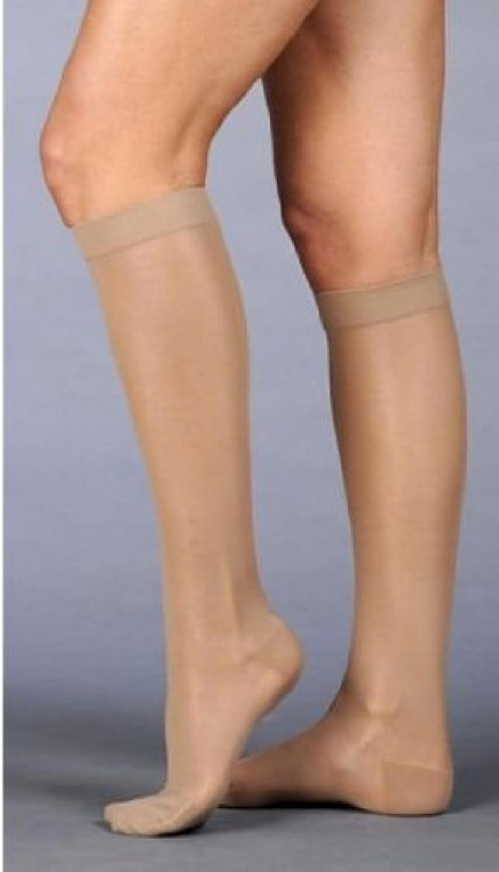 精巧なパートナーウミウシJuzo Naturally Sheer Compression Knee High Short Closed Toe 20 – 30 mmHg、III、ベージュby Juzo