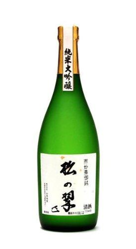 松の翠 上撰 純米大吟醸 720ml 純米大吟醸酒 15度~16度