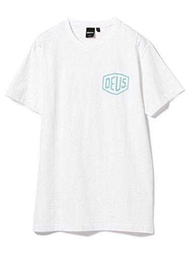 デウスエクスマキナ DEUS EX MACHINA/ビームス別注 VENICE プリント Tシャツ BEAMS 24040150587 LARGE ブルー