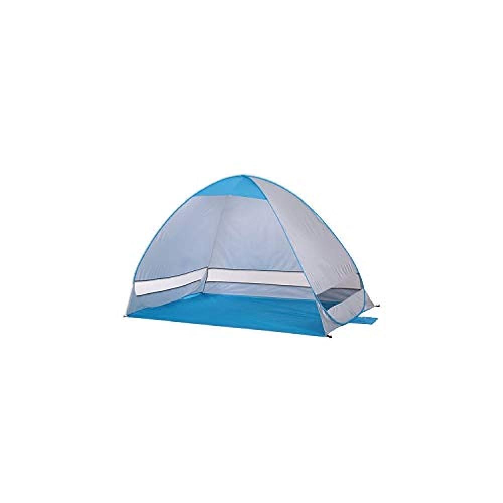 ぞっとするようなラベンダー成長自動ビーチテント 2人用 キャンプテント UV保護 シェルター アウトドアテント インスタントポップアップ サマーテント 200120130cm