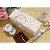 ボンクラージュ 布製品 リボン刺繍セット バラ