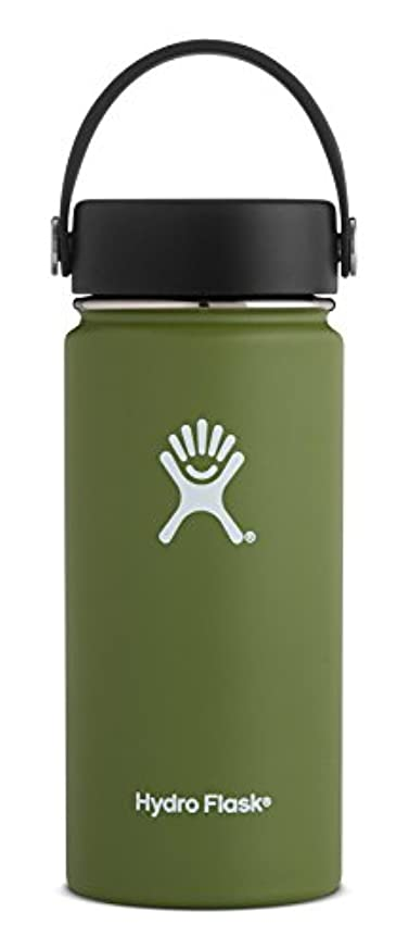 合成速い志すHydro Flask(ハイドロフラスク) HYDRATION_ワイド_16oz 473ml 08オリーブ 5089022 08Olive 16oz