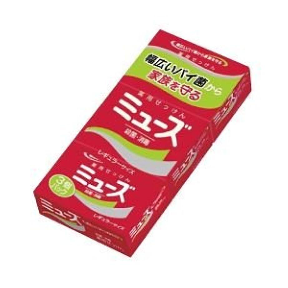 メルボルンどうやら褐色(業務用セット) アース製薬 ミューズ 3個パック 【×10セット】