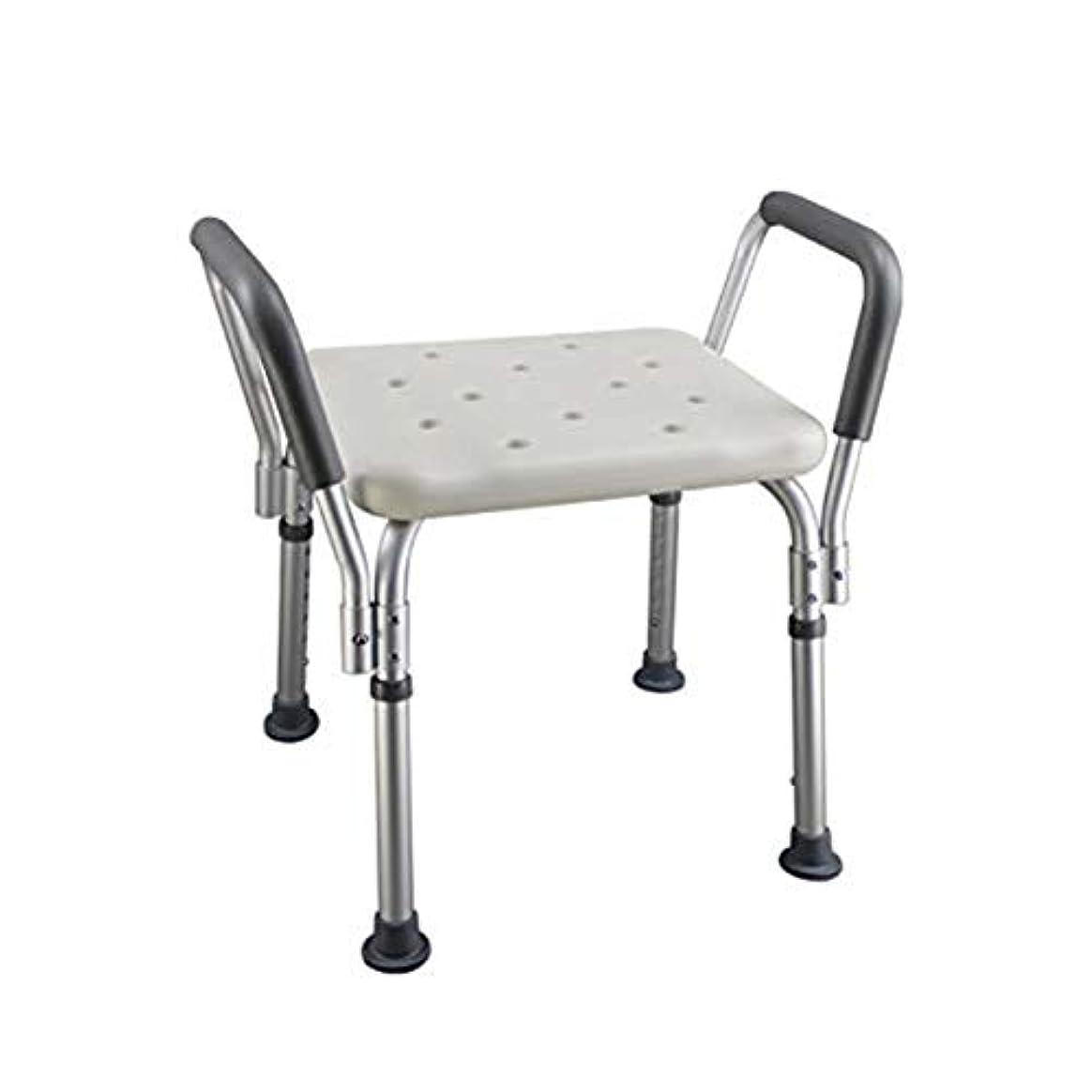 広げる彼自身タイヤトイレチェアハンディキャップ用折りたたみ椅子