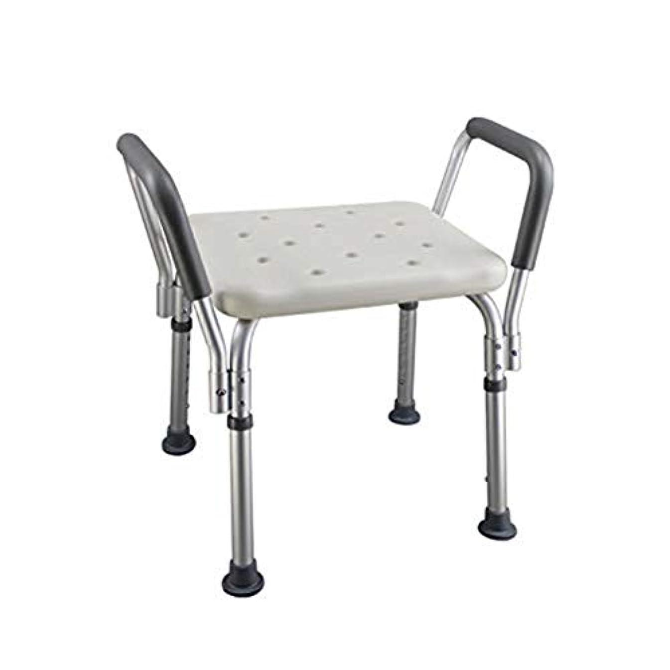 怪物不実アルミニウムトイレチェアハンディキャップ用折りたたみ椅子