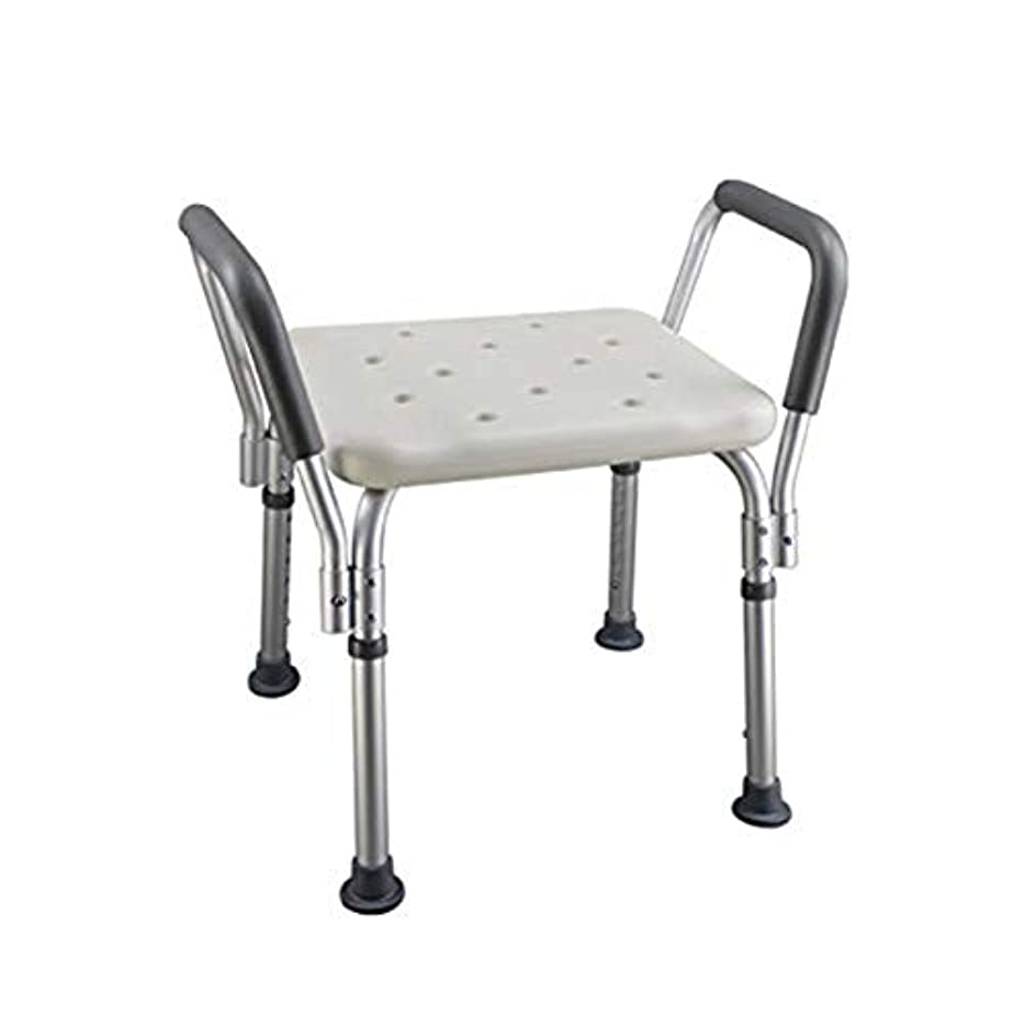 浴準備した非アクティブトイレチェアハンディキャップ用折りたたみ椅子