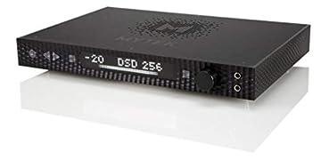 正規輸入品 MYTEK マイテック Manhattan DAC II ブラック ES9038PRO 32bit/384kHz PCM DSD265対応 認証取得済みハードウェアMQAデコーダ内蔵 バランス駆動対応 ヘッドホンアンプ