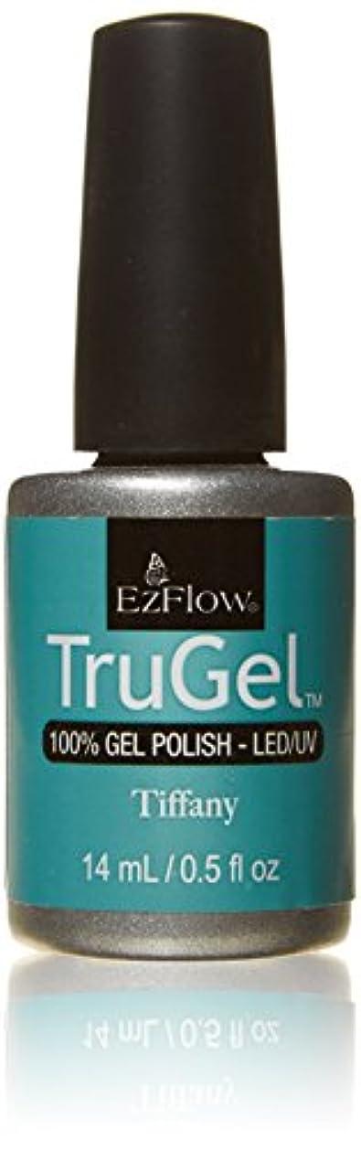 円形普遍的なグリップEzFlow トゥルージェル カラージェル EZ-42278 ティファニー 14ml