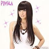 PRiSiLA オールウィッグ/ぱっつんストレートナチュラルカラー