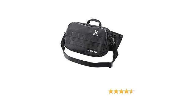 Shimano XEFO Waist Bag BW-211S Black Color Run-and-Gun Fishing Sporting