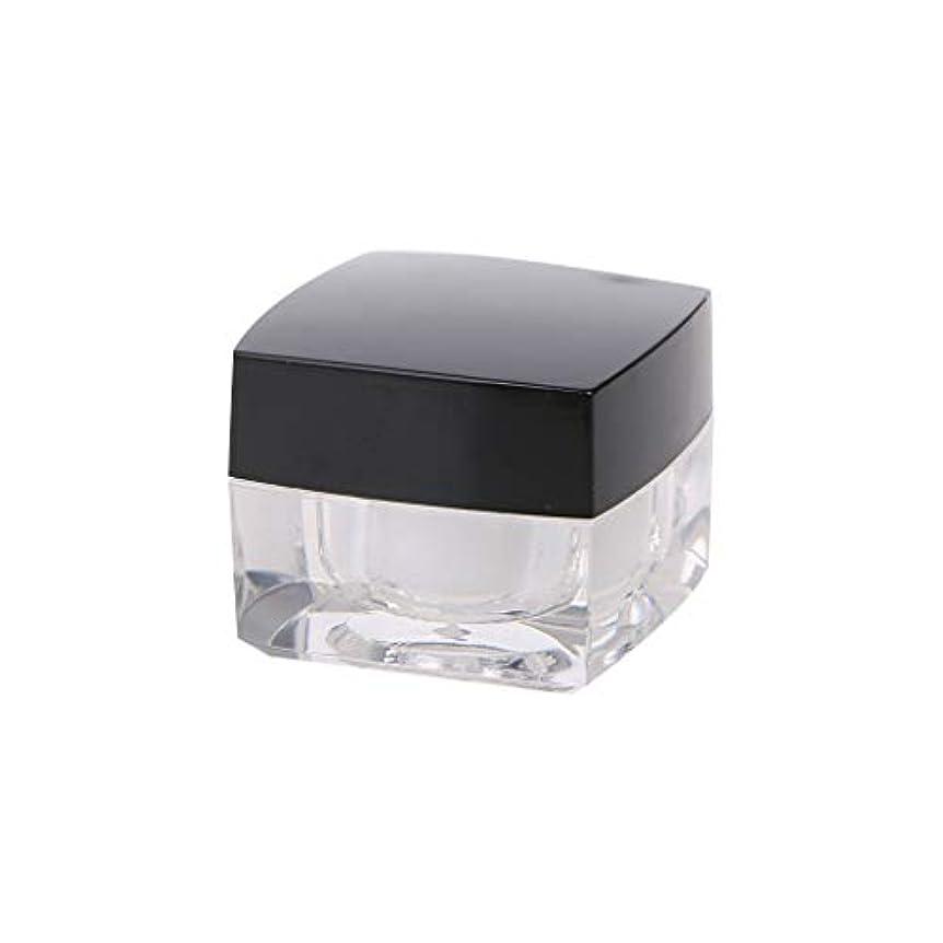 間違いなく簡単に応じるDabixx 小さなスクエアボトル化粧品空ジャーポットアイシャドウリップクリームフェイスクリームサンプル - 5g