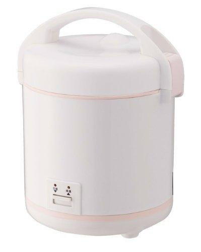 カンサイ 一人暮らしにオススメ「ちょい炊き」ミニ炊飯器 1.5合炊き KRC-250(ホワイト) KRC-250(W)
