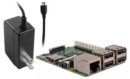 ラズベリーパイ3 (Raspberry Pi 3B made in JAPAN) 技適対応 日本製 + 5.1V/2.5A ラズベリー財団公式アダプタ 【本体+アダプタ セット品】