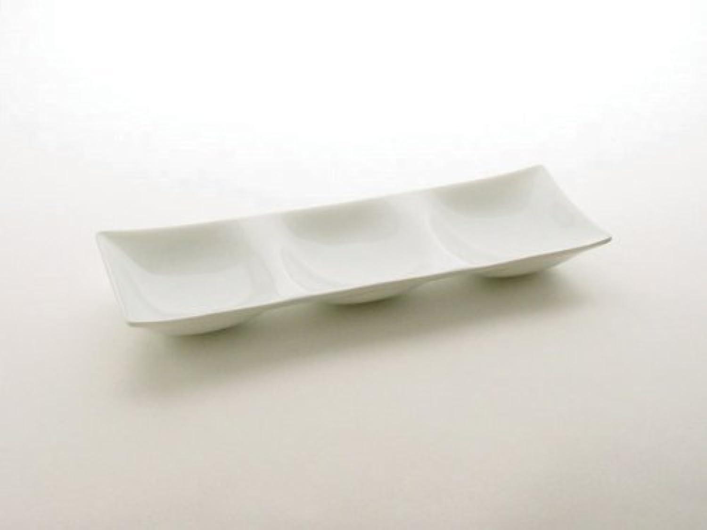 miyama コワケ 3つ仕切り皿 3枚セット 箱入り 日本製