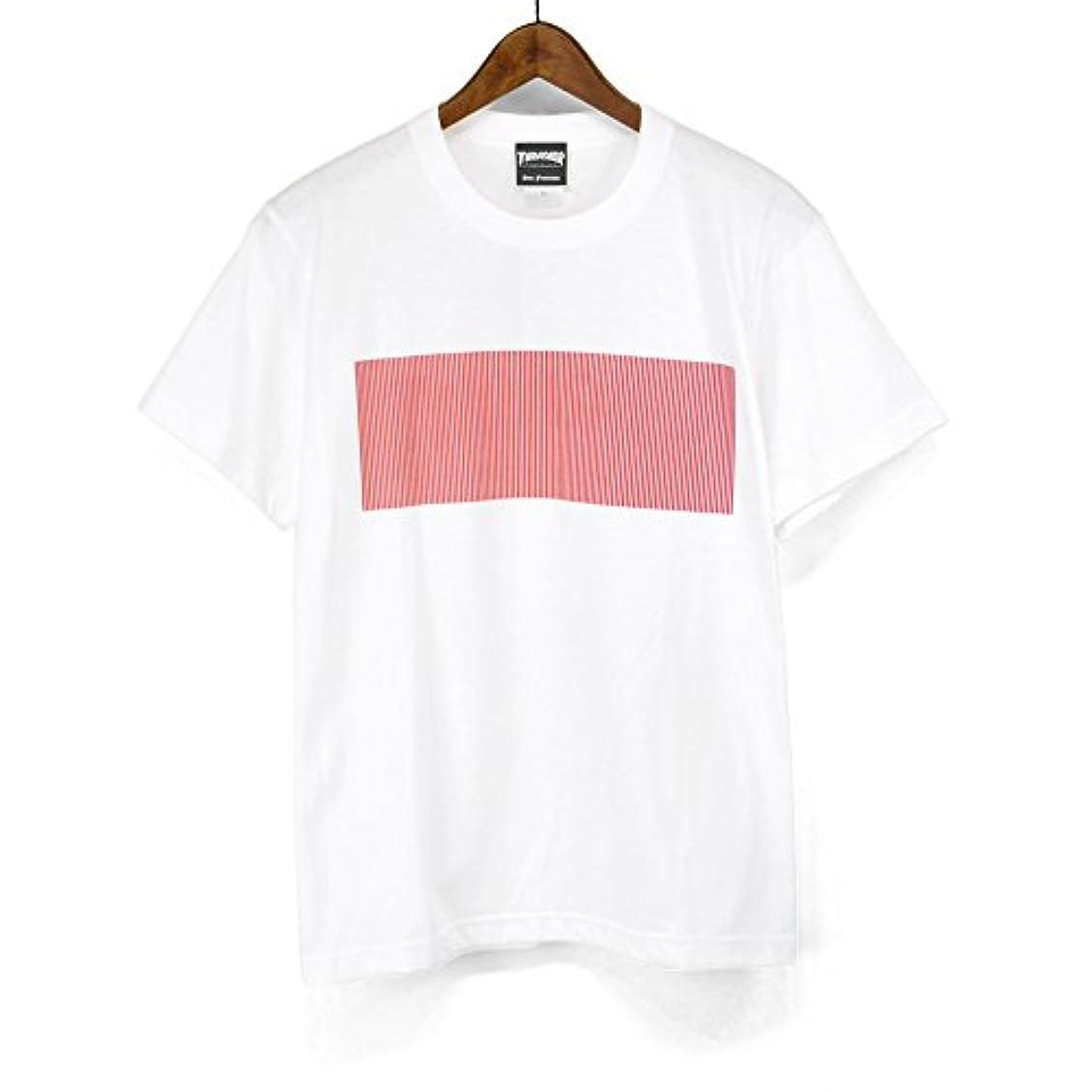 入るドラフト舗装スラッシャー(THRASHER) 半袖Tシャツ ブラインド マグロゴ プリントTシャツ TH91222 マグロゴTシャツ BRIND MAG LOGO T-SHIRTS