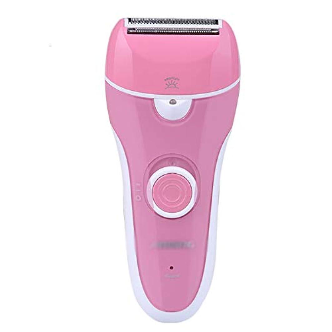 女性用脱毛器、電動脱毛、コードレス、ウェット&ドライ。 電気シェーバーインスタントヘアトリマーリムーバー、充電式