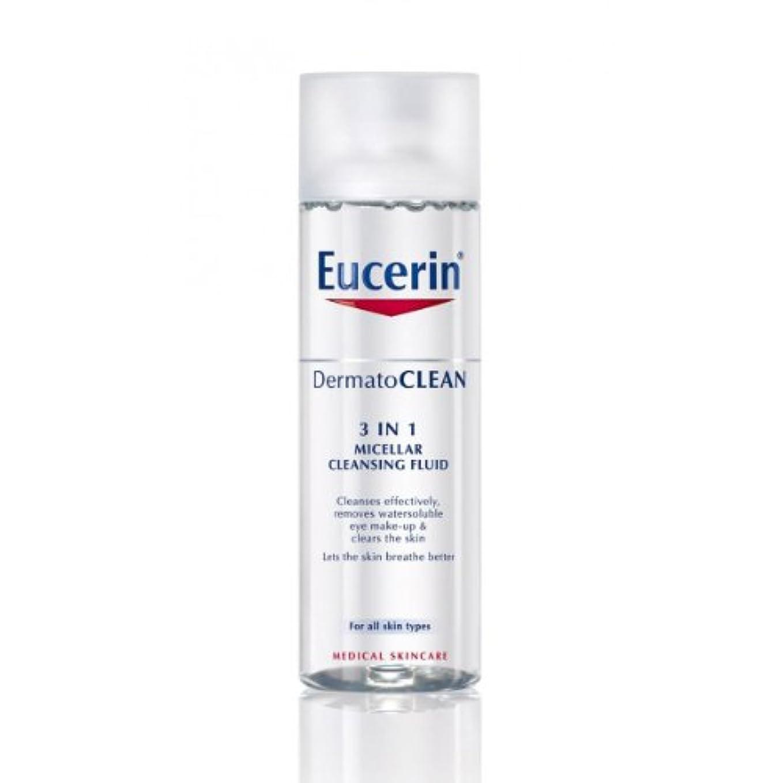 その後未接続驚Eucerin Dermatoclean 3in1 Micellar Cleansing Fluid 200ml [並行輸入品]