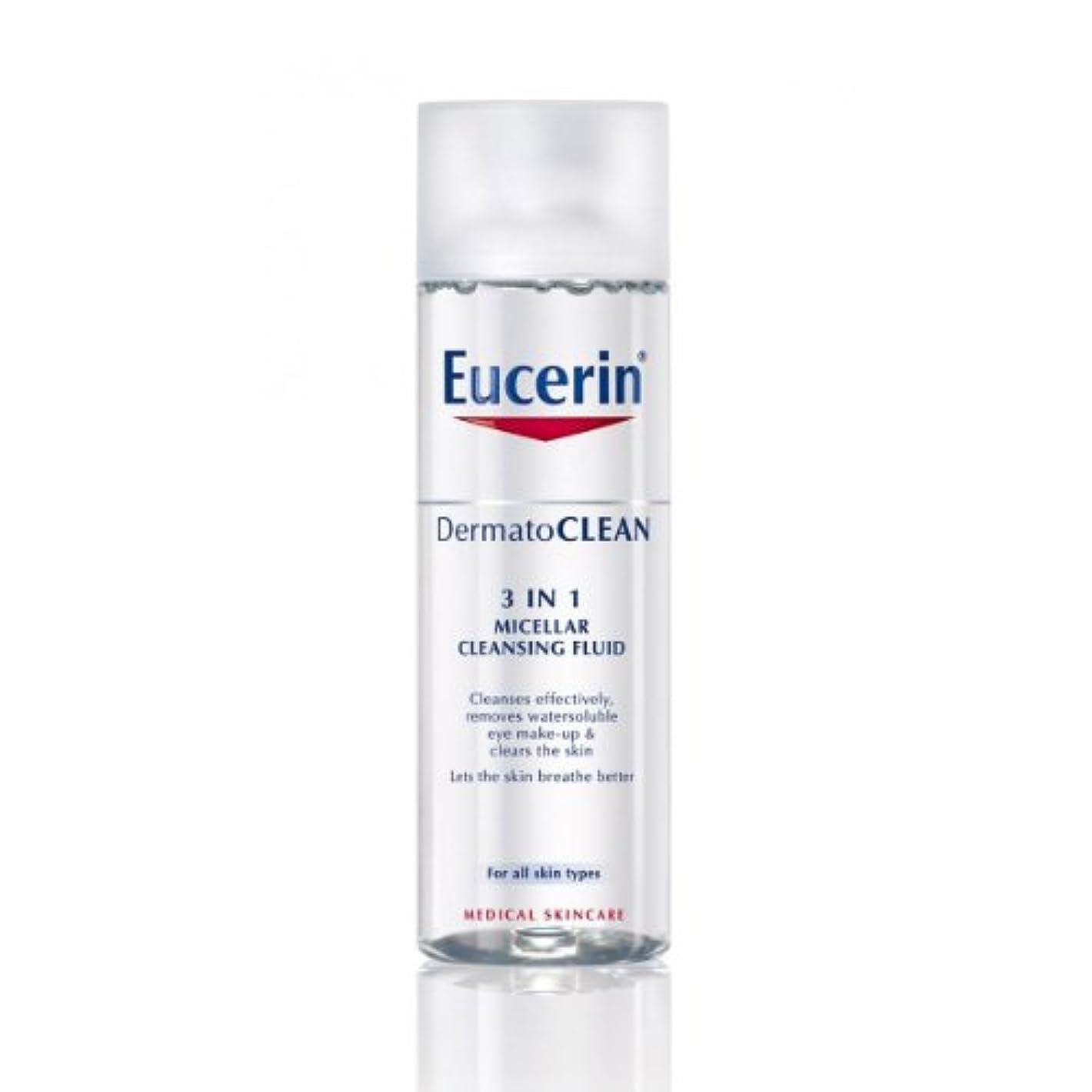 ペスト換気不快Eucerin Dermatoclean 3in1 Micellar Cleansing Fluid 200ml [並行輸入品]