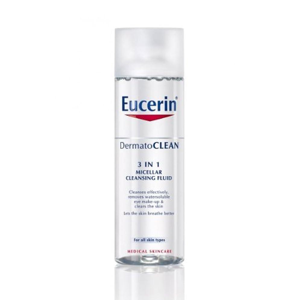 Eucerin Dermatoclean 3in1 Micellar Cleansing Fluid 200ml [並行輸入品]