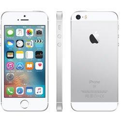 SIMロック解除済 Apple iPhone SE 64GB シルバー Softbank