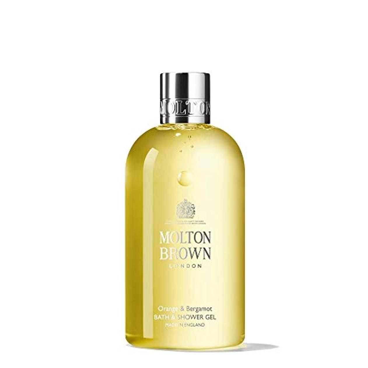 花弁ロンドン反発MOLTON BROWN(モルトンブラウン) オレンジ&ベルガモット コレクション O&B バス&シャワージェル