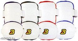 ベルガード BELGARD アームガード AL811 左右打者別 赤 AL811R(右打者用)