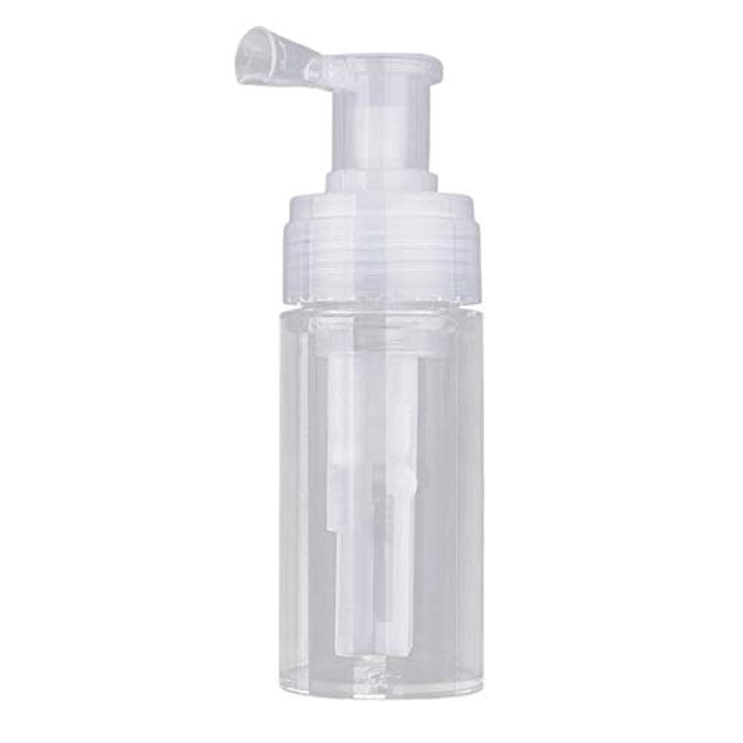 バルブタックつらいSODIAL 110 mlディスマウント可能 トラベルパウダースプレーボトル ペット素材化粧品ボトル 理髪師と化粧道具