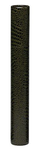 [해외]미야자와 둥근 통 악어 무늬 증서 케이스 (36cm) A3 · B4 사이즈까지 지원/Miyazawa round tubular alligator pattern certificate case (36 cm) A3 · B4 size compatible