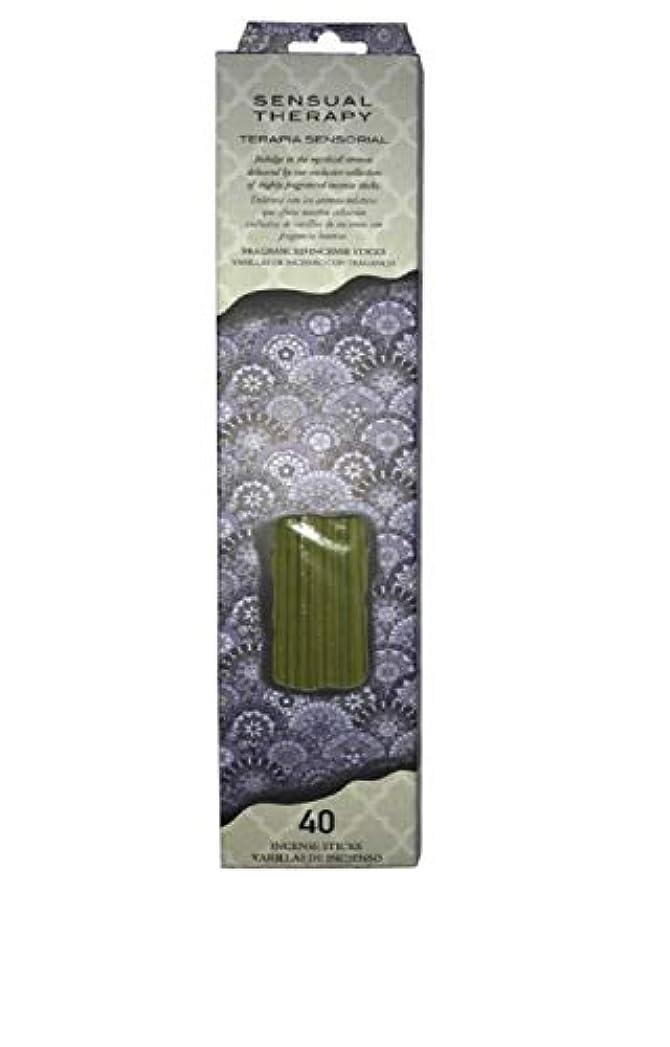 謝るタフふさわしいFlora Classique官能的療法Incense、40 ct