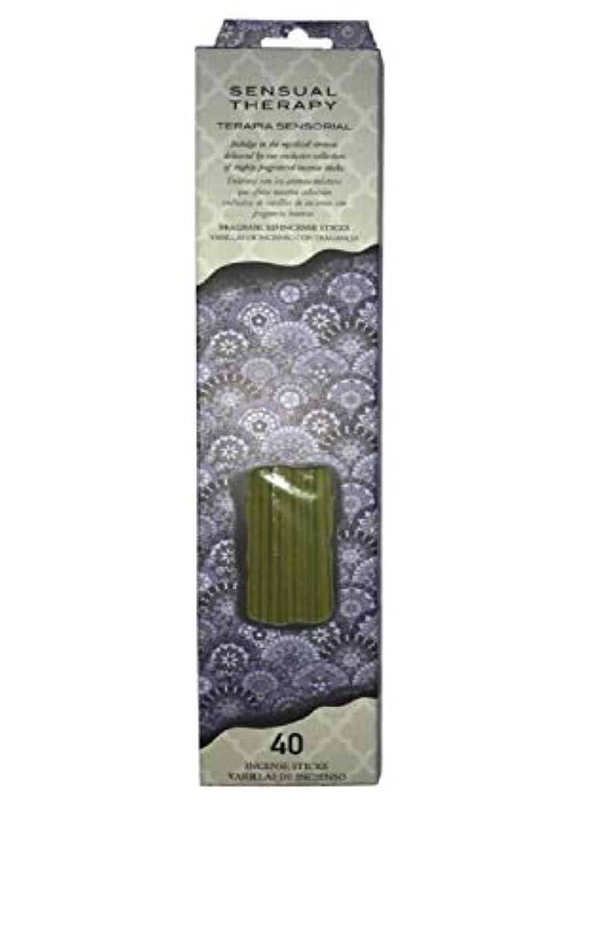 ワイプうねる正規化Flora Classique官能的療法Incense、40 ct