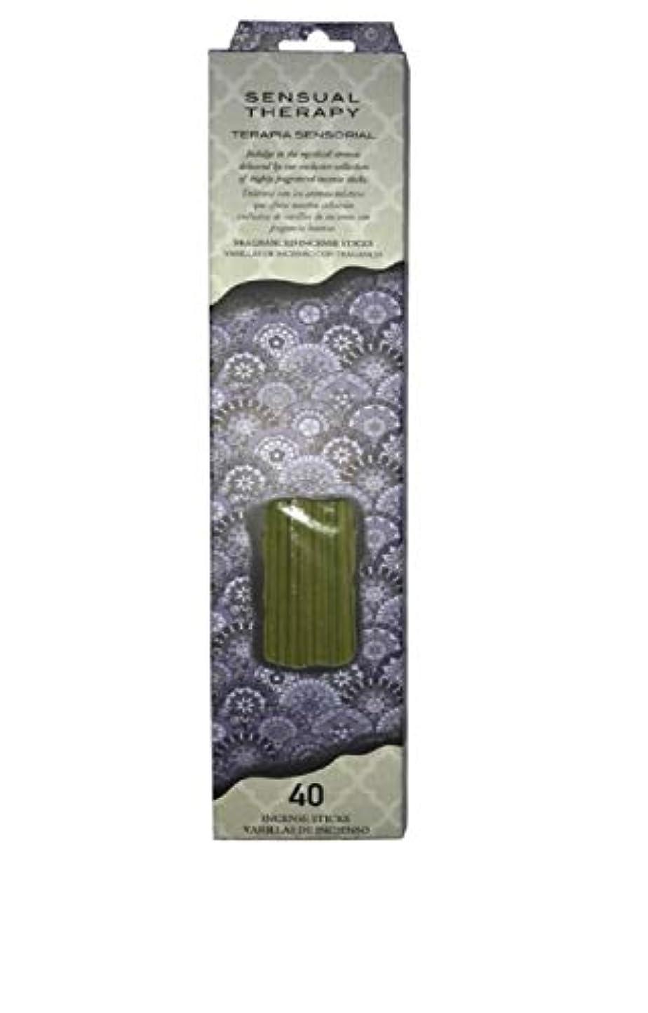 暗くする教師の日レンディションFlora Classique官能的療法Incense、40 ct