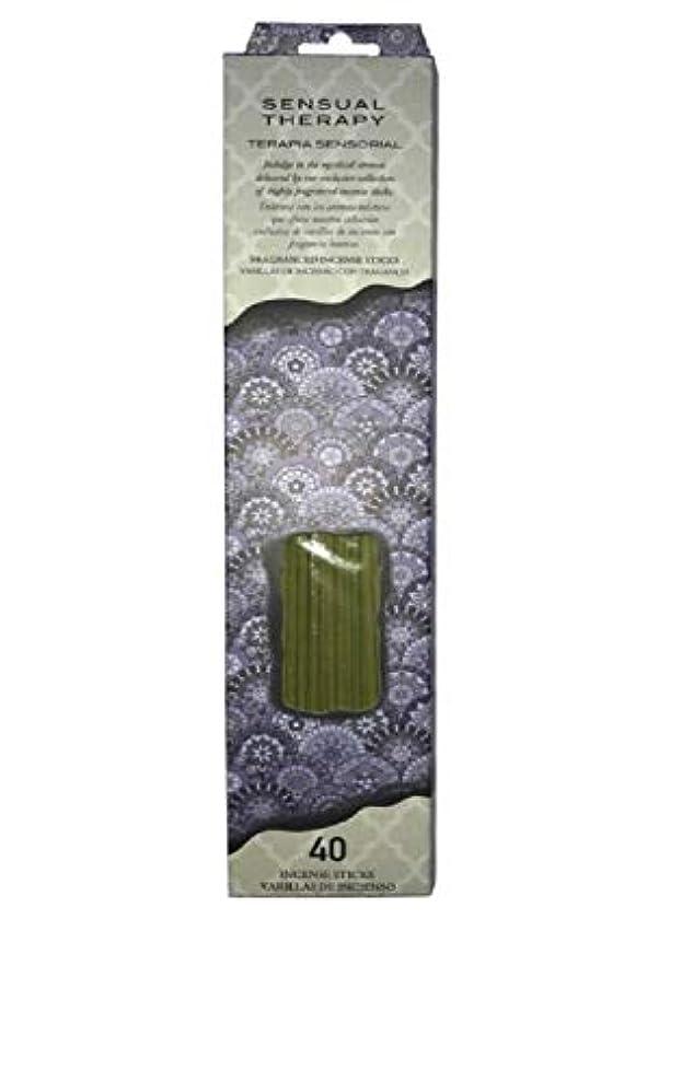 強いますサスペンド注ぎますFlora Classique官能的療法Incense、40 ct