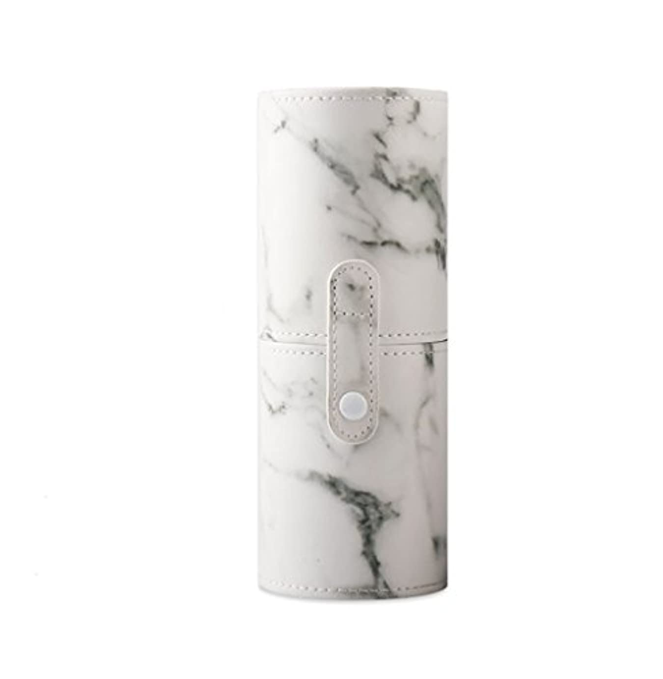 野望と組む訴えるKINGZUO メイクブラシホルダー 専用収納 コスメケース ボックス 文具ケース PUレザー 旅行 小物収納 携帯便利 化粧カップ  約12本収納