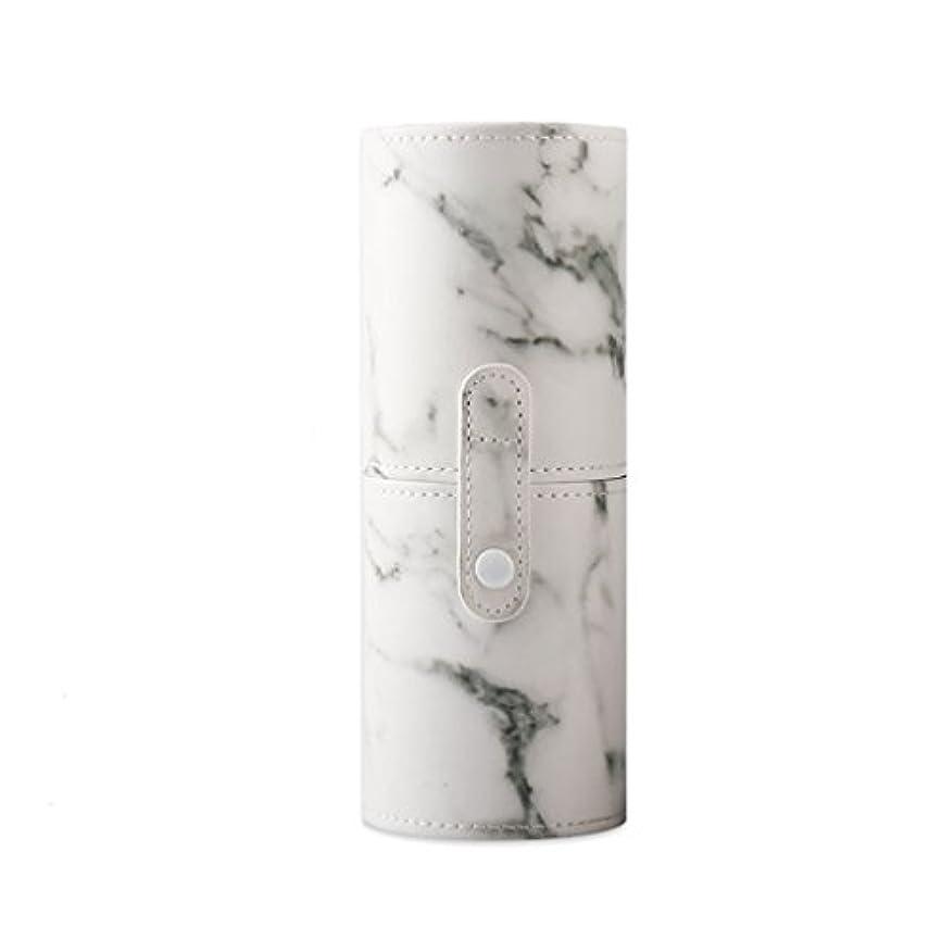 リマ服を片付ける復活するKINGZUO メイクブラシホルダー 専用収納 コスメケース ボックス 文具ケース PUレザー 旅行 小物収納 携帯便利 化粧カップ  約12本収納