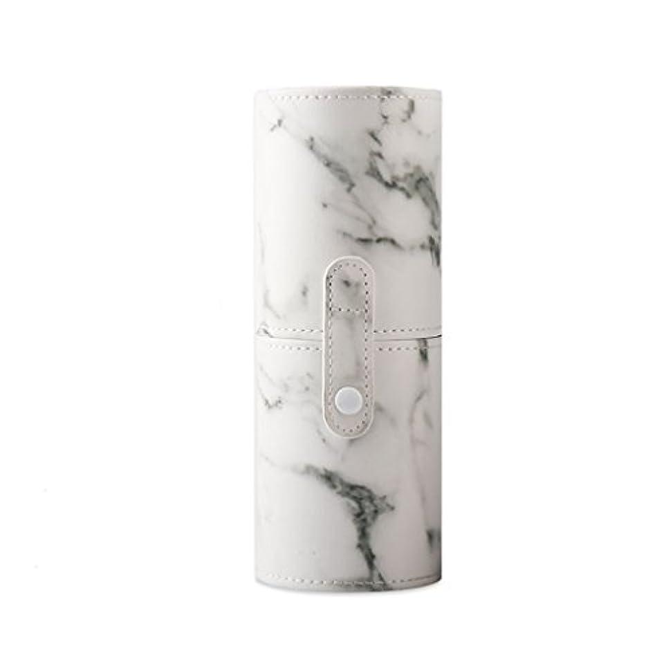 任意生き返らせる良いKINGZUO メイクブラシホルダー 専用収納 コスメケース ボックス 文具ケース PUレザー 旅行 小物収納 携帯便利 化粧カップ  約12本収納