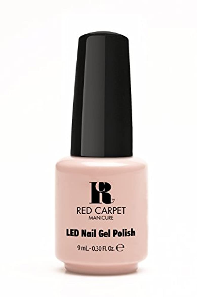 領事館滑るごめんなさいRed Carpet Manicure - LED Nail Gel Polish - Creme de la Creme - 0.3oz / 9ml