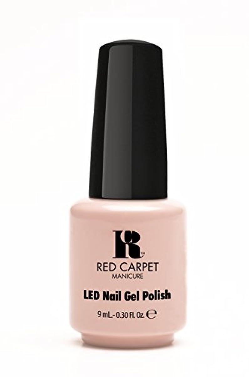 上向きドロップパーチナシティRed Carpet Manicure - LED Nail Gel Polish - Creme de la Creme - 0.3oz / 9ml