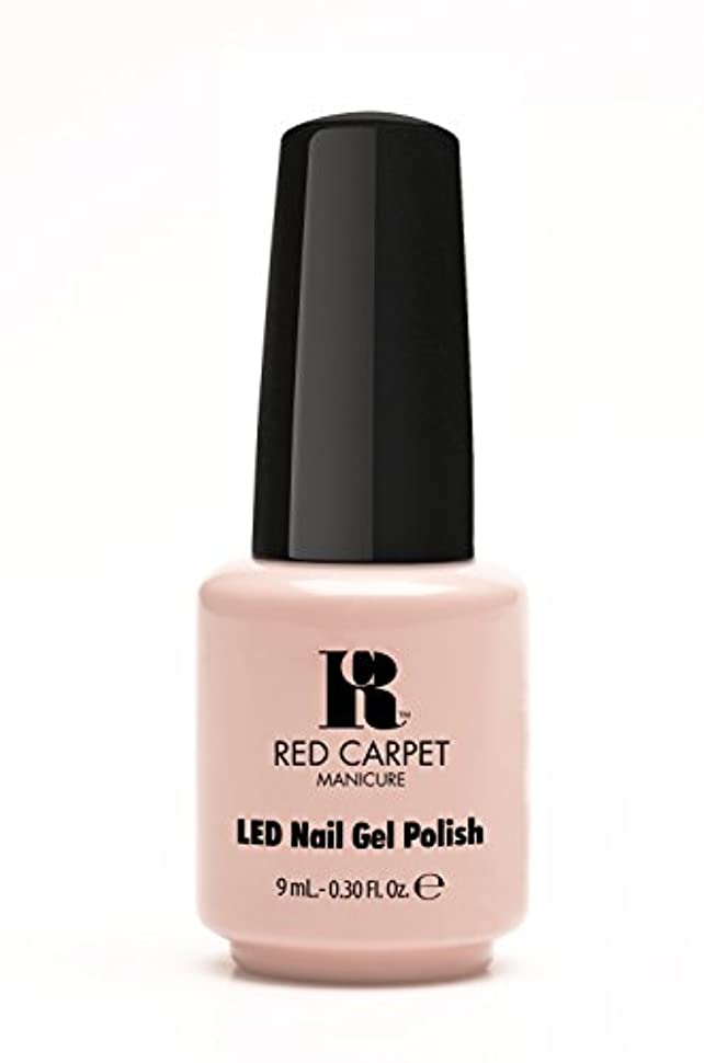 神経障害排泄物遠えRed Carpet Manicure - LED Nail Gel Polish - Creme de la Creme - 0.3oz / 9ml