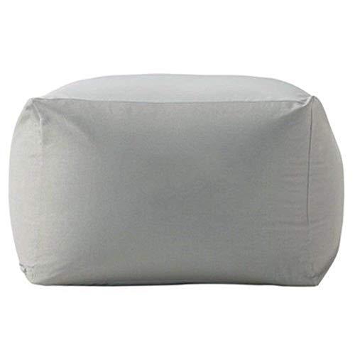 ビーズクッションカバー ソファーカバー キューブチェアカバー 洗えるカバー 付け替えカバー DEWEL (グレー)