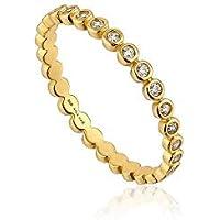 Shimmer Half Eternity Ring