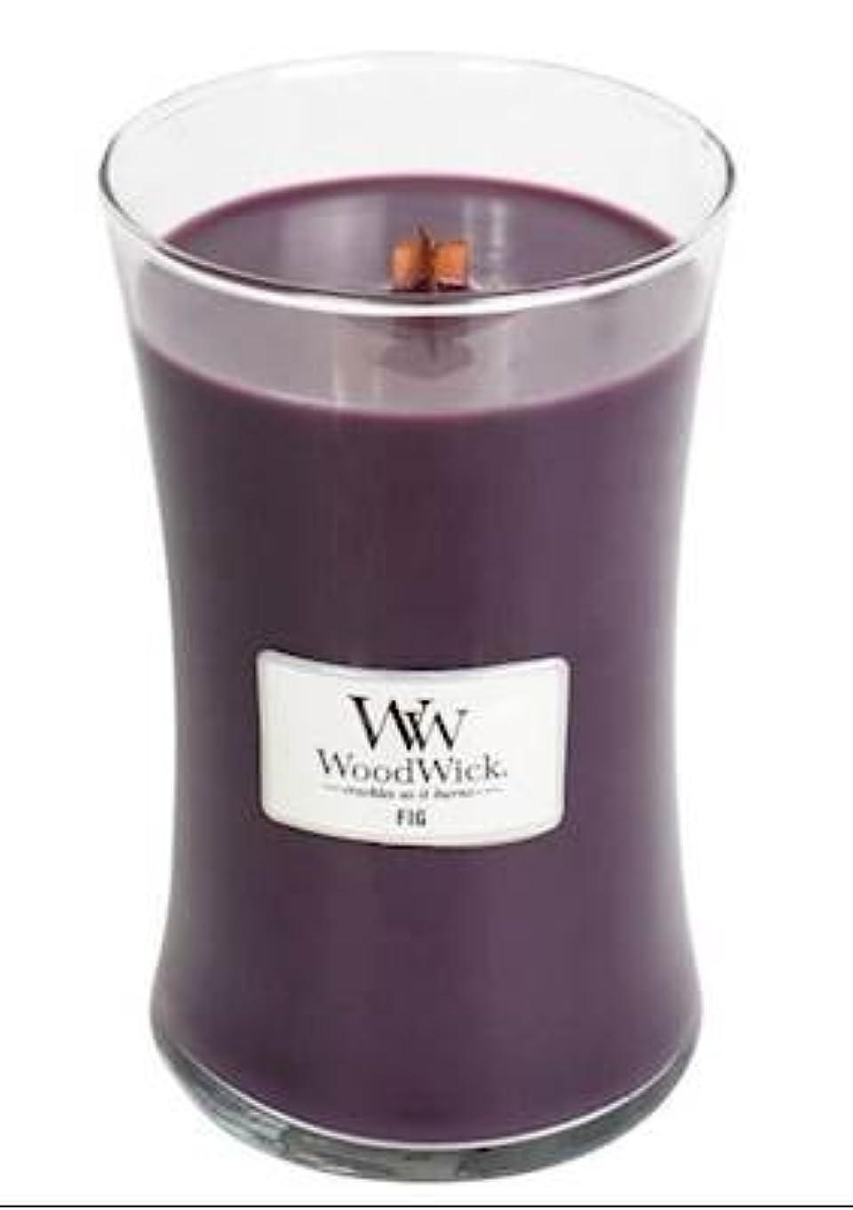 割り当てます検出器割り当てますFig – WoodWick 22oz Medium Jar Candle Burns 180時間