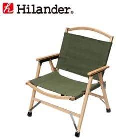 Hilander(ハイランダー) ウッドフレームチェア コットン(新仕様) 単体 カーキ