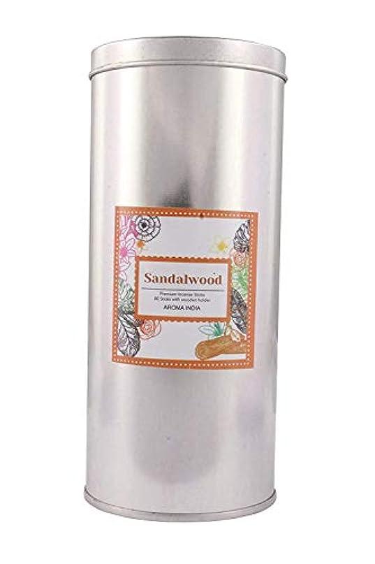 ワインひねくれたこどもの日Aroma India Incense Sticks in Jumbo Round Tin (6.6 cm x 6.6 cm x 15.3 cm, Natural, J1002SW)