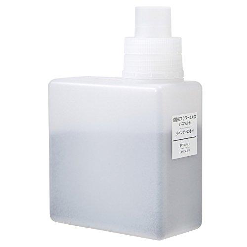 無印良品 6種のフラワーエキスバスソルト・ラベンダーの香り 500g 日本製