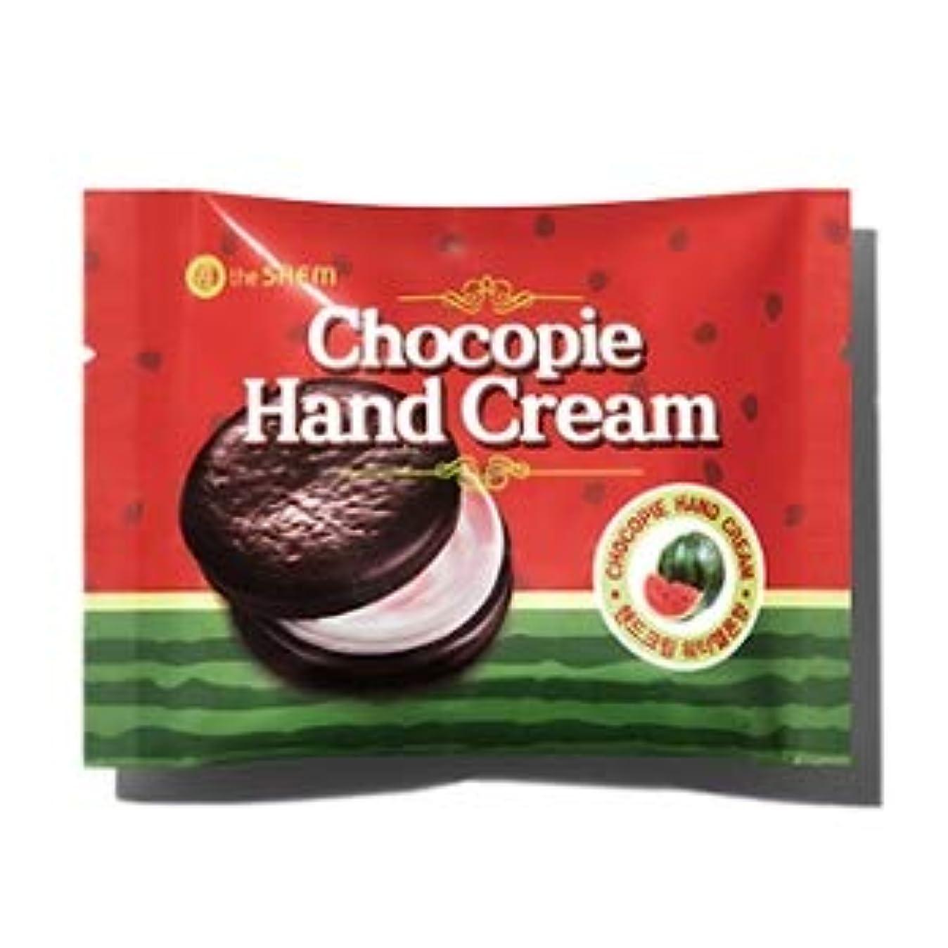 沼地農学美容師ザセム チョコパイハンドクリーム - スイカ 35ml / The Saem Chocopie Hand Cream -Watermelon 35ml [並行輸入品]