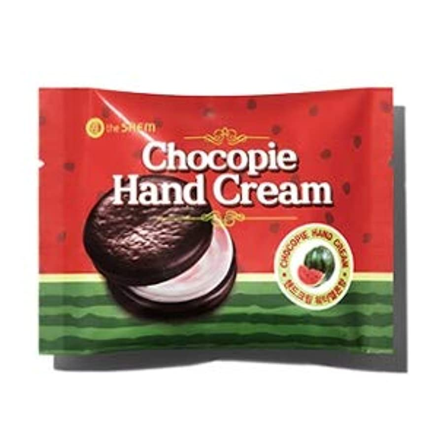 ザセム チョコパイハンドクリーム - スイカ 35ml / The Saem Chocopie Hand Cream -Watermelon 35ml [並行輸入品]