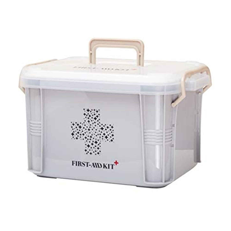 セーター先史時代のぜいたくYardwe スナップバックルファミリー緊急キット収納オーガナイザー付き救急箱ビン用ピル収納ケース(Sサイズ)