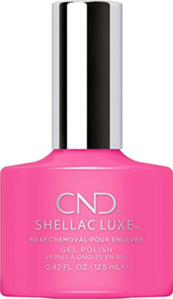ガソリン広告引っ張るCND Shellac Luxe - Hot Pop Pink - 12.5 ml / 0.42 oz