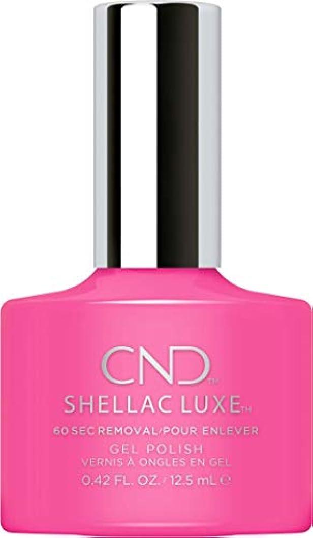 ライド激怒社説CND Shellac Luxe - Hot Pop Pink - 12.5 ml / 0.42 oz