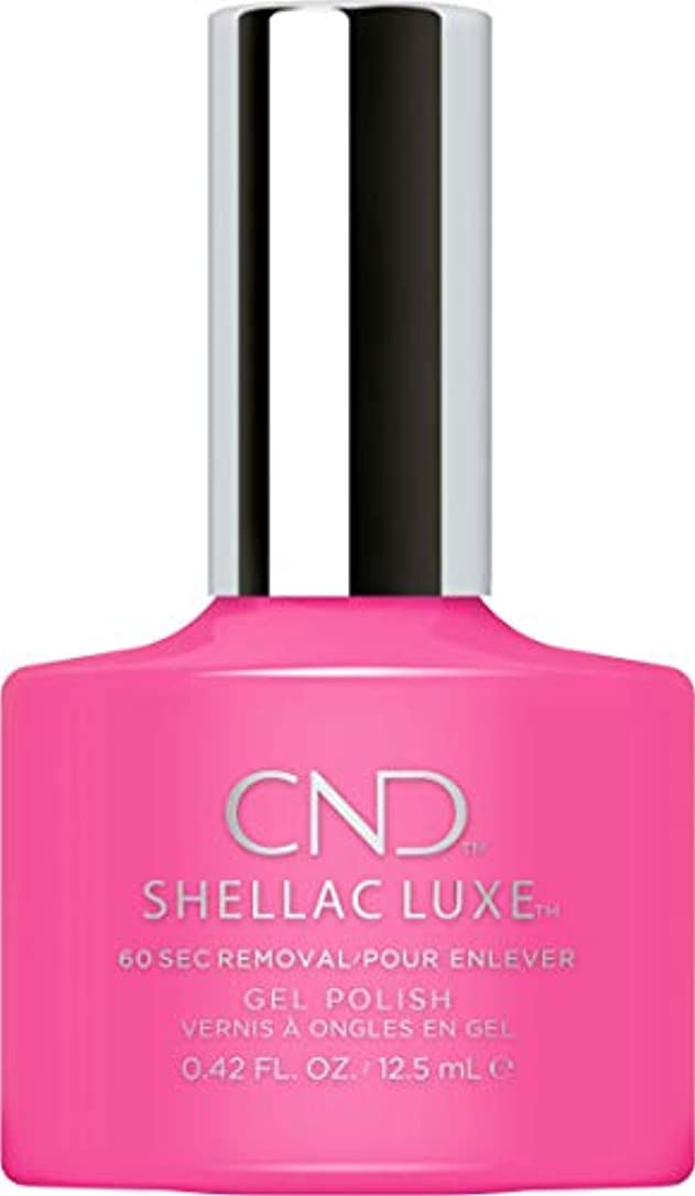 固執手首会話CND Shellac Luxe - Hot Pop Pink - 12.5 ml / 0.42 oz